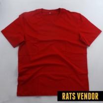 Kaos Polos Merah Tomato