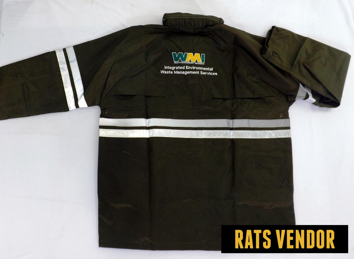 Jaket Safety Belakang