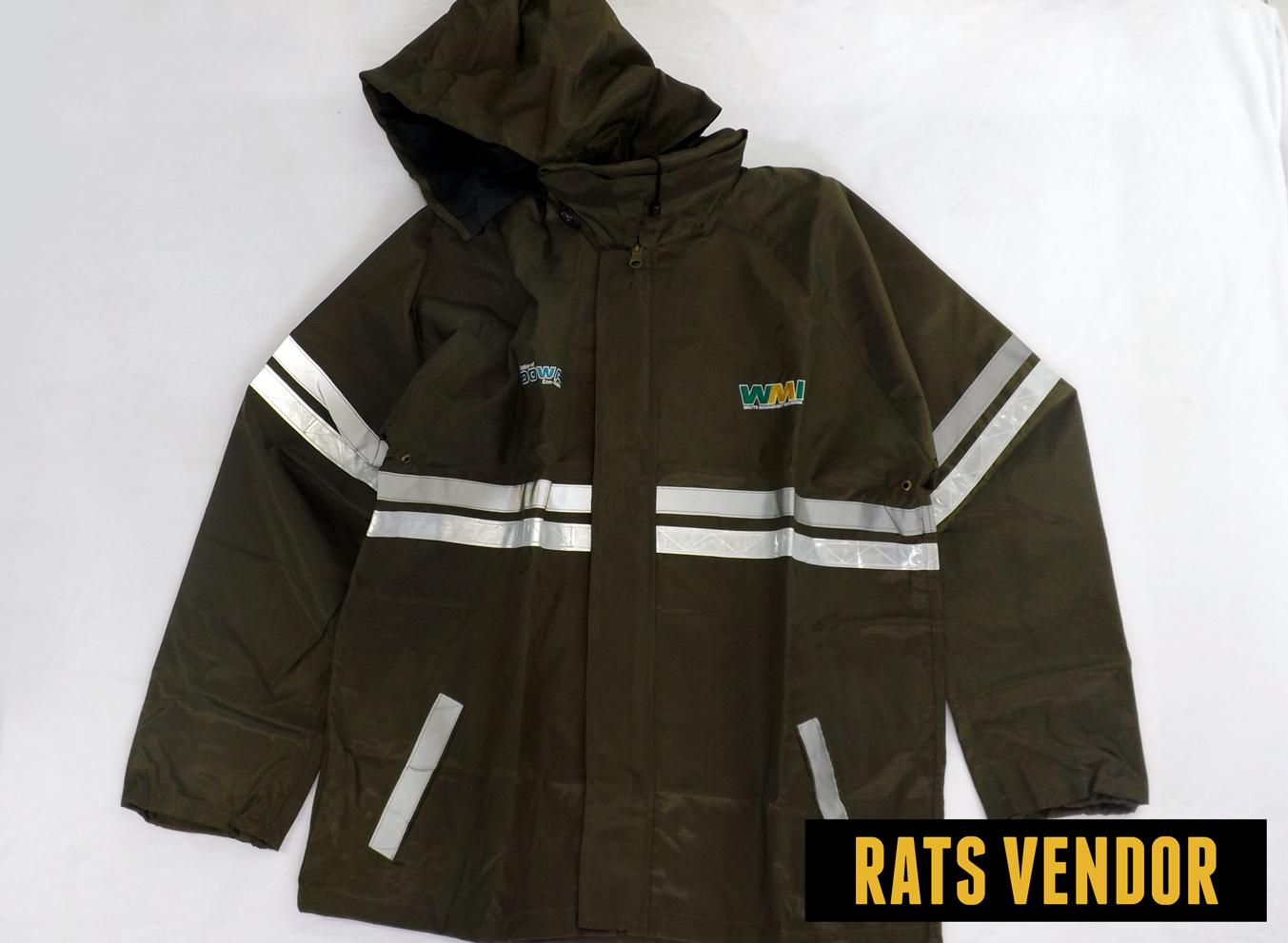 Jaket Safety Depan