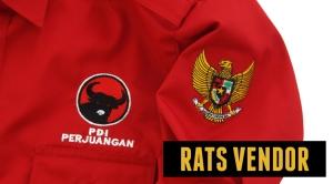 Kemeja-PDL-Lengan-Panjang-Partai-PDI-Perjuangan-Pilkada-Banda-Aceh-Detail-Bordir