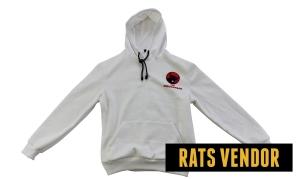 Sweater-Hoodie-PDI-Perjuangan-Warna-Putih-Tampak-Depan