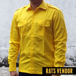 Kemeja-outdoor-lapangan-lengan-panjang--warna-kuning-b