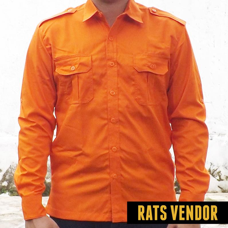 Kemeja-outdoor-lapangan-lengan-panjang-warna-orange-a