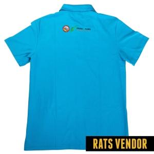 Polo-Shirt-Seragam-Kerja-Ranger-Taman-Budaya-Warna-Biru-Langit-Badan-Belakang