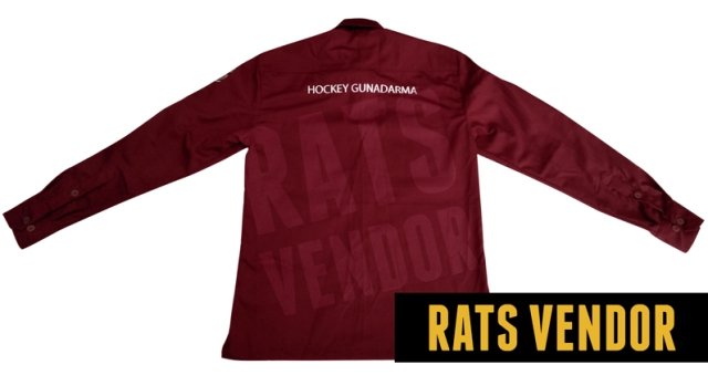 Kemeja-PDL-Maroon-Komunitas-Hockey-Kampus-Gunadarma-Klub