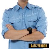 Kemeja-outdoor-lapangan-pdl-Rats-Vendor-biru-langit-a