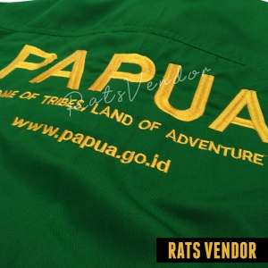 Kemeja-PDL-Panjang-Rats-Vendor-Warna-Hijau-Pakai-Bordir-Maret-2020