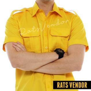 Kemeja-pendek-outdoor-lapangan-pdl-Rats-Vendor-kuning-a