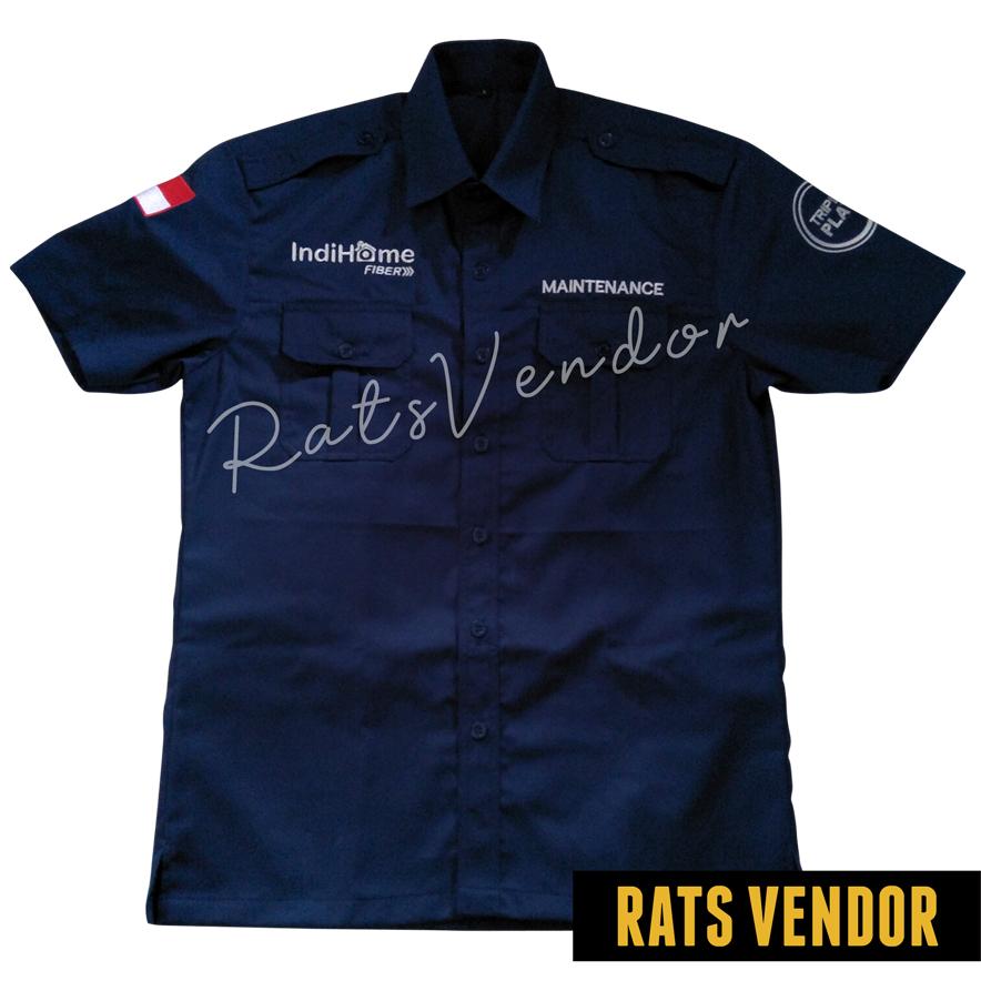 HEM-lengan-Pendek-Rats-Vendor-Warna-Navy-Pakai-Bordir-Tampak-Depan-April-2020