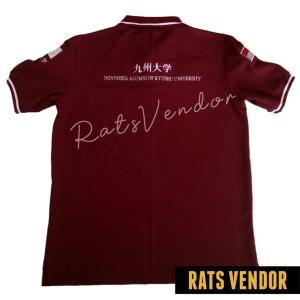 Polo-Shirt-Rats-Vendor-Warna-Maroon-Pakai-Bordir-Tampak-Belakang-April-2020